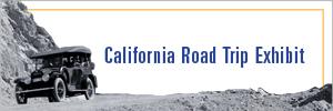 California Road Trip Exhibit Button