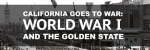 California World War 1 Exhibit Button