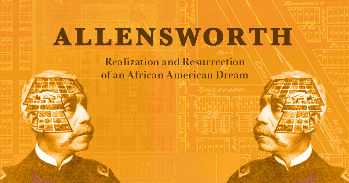 Image of banner for Allensworth Exhibit