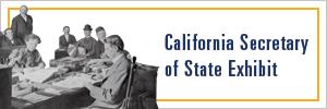 California Secretary of State Exhibit Button