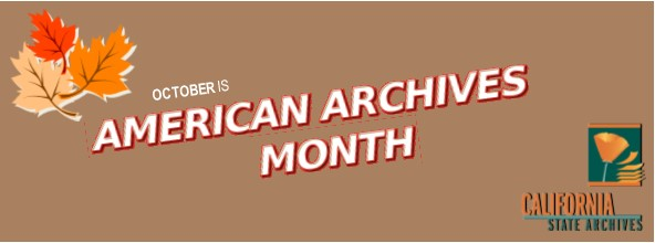 October is American Archives Month Banner