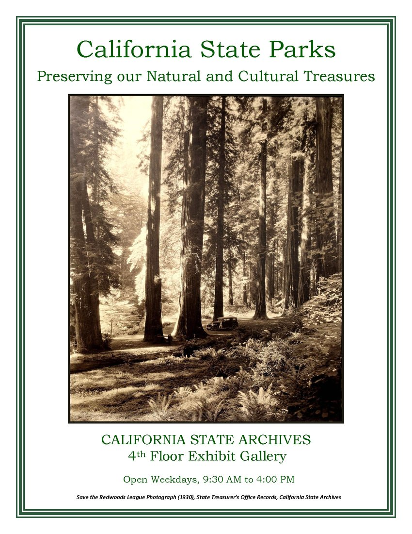 State Parks Exhibit poster