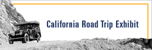 Button link to online exhibit California Road Trip
