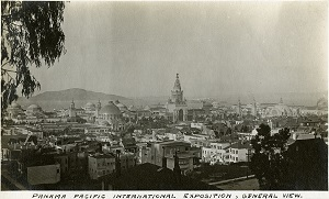 96-07-08-alb01-003, General view of the Panama-Pacific International Exposition, 1915