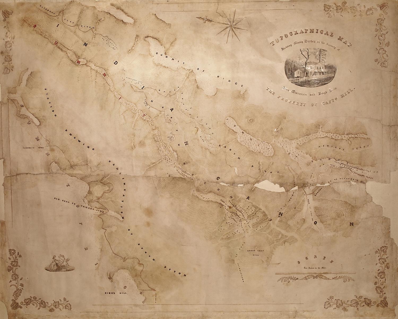 Iowa Hill Map