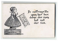 Suffrage Postcard