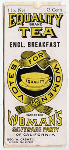 Trademark No. 5153, Equality Tea